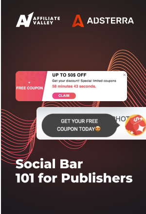 Social Bar 101 for Publishers: Instant Monetization and Record CPMs
