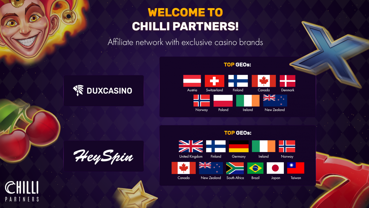 Chilli Partners: Exclusive Gambling Offers on the Best Terms