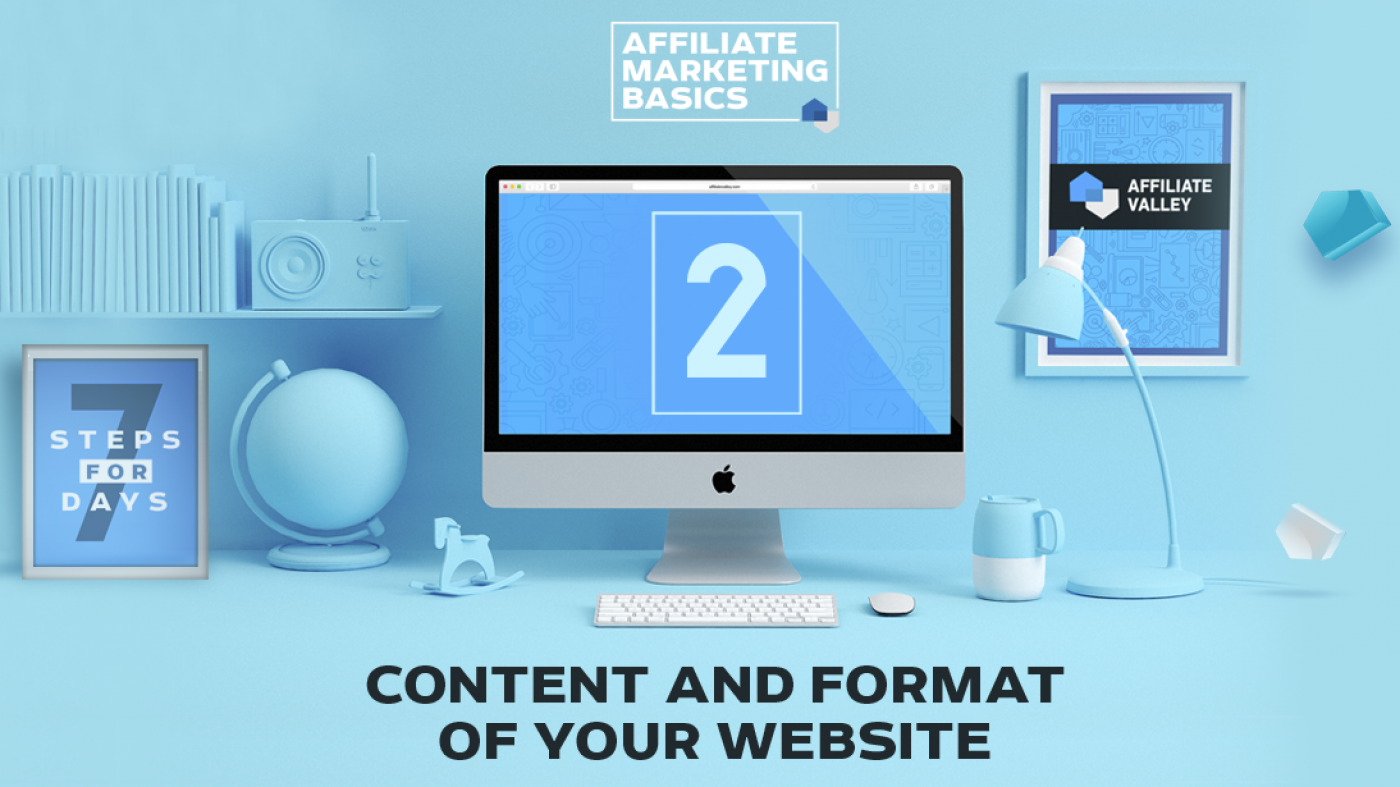 Affiliate Marketing Basics: Day 2 - Finding Content And Setting Up Format For Your Website