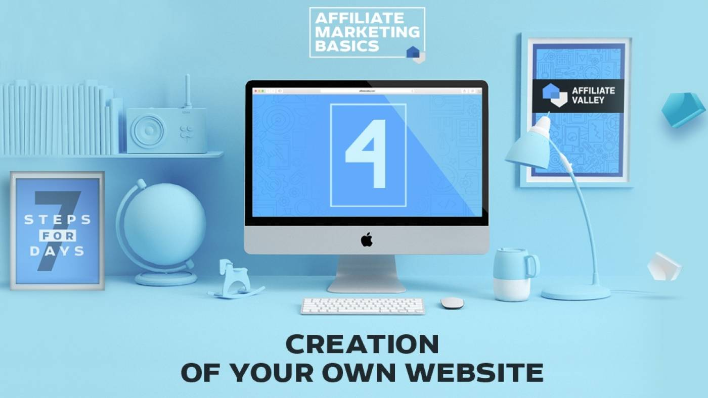 Affiliate Marketing Basics: Day 4 - New Website Creation