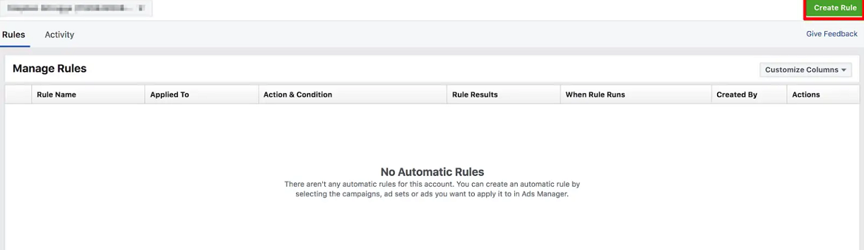 How to use Facebook automated rules