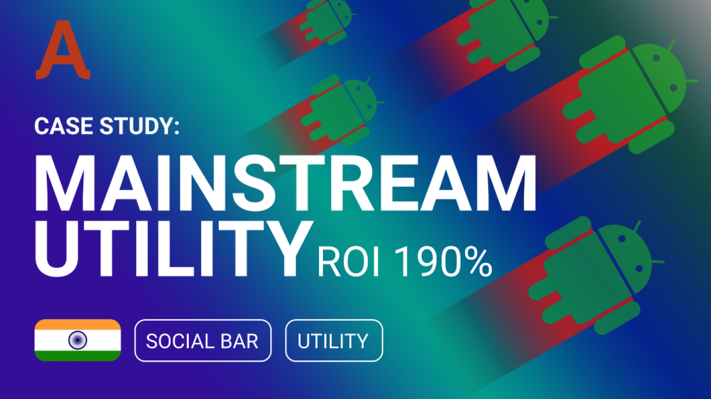 Case Study: ROI 190% with Social Bar by Adsterra
