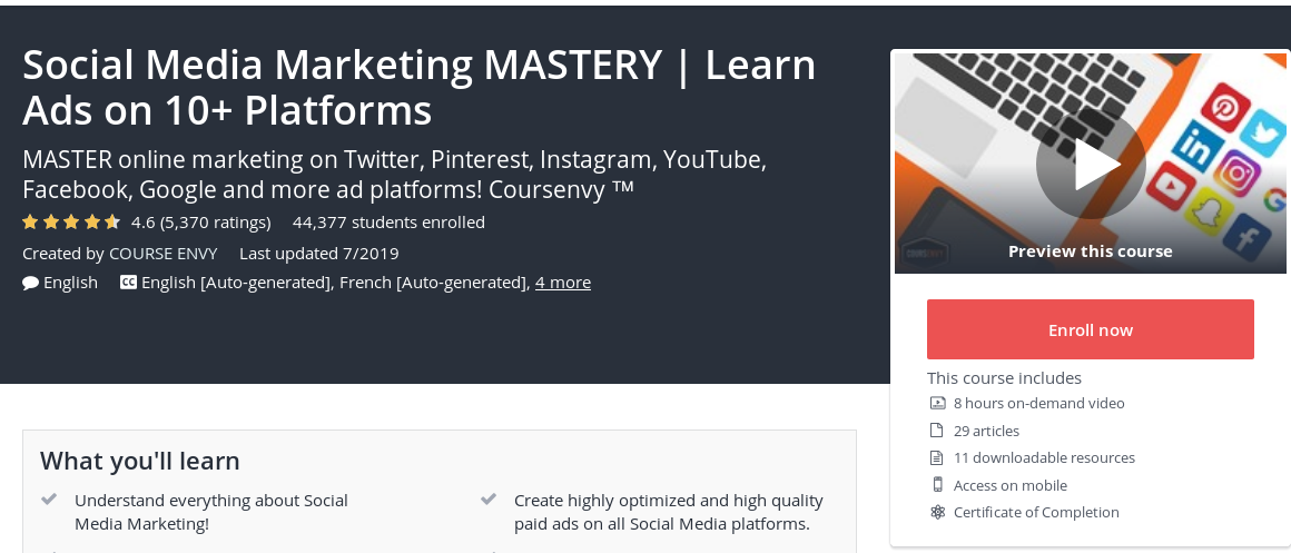 Top Affiliate Marketing Courses 2020