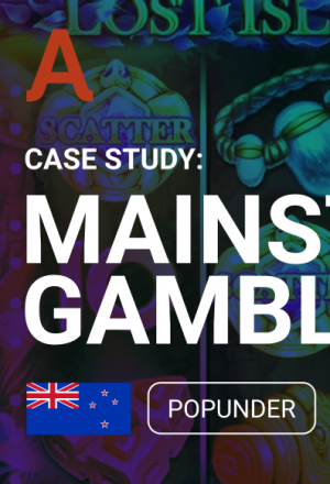 Affiliate Marketing Case Study: 286% ROI With Adsterra Popunder for Mainstream Gambling Vertical